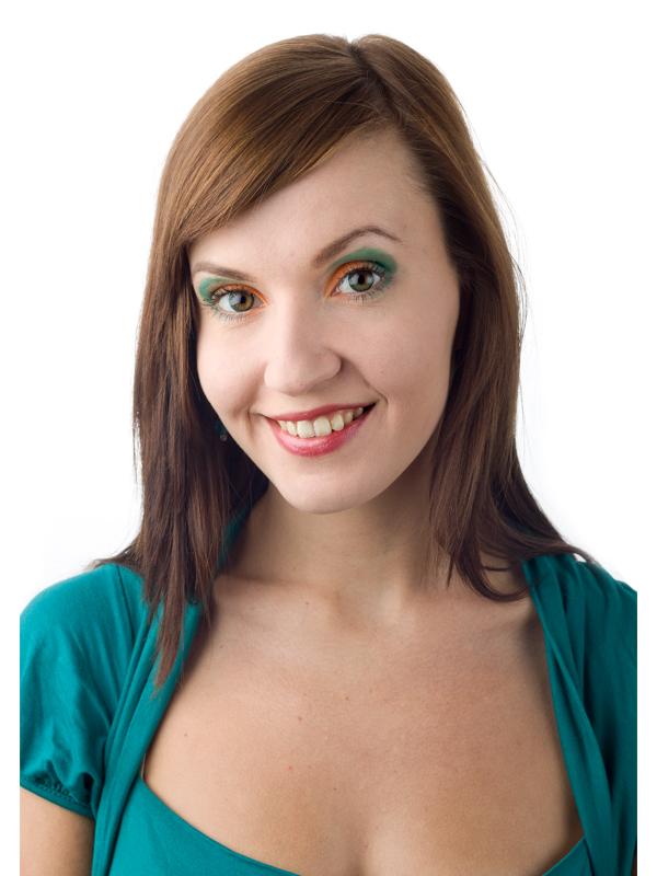 barevné kontaktní čočky - na hnědé oči