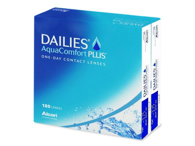 Dailies AquaComfort Plus (180 kpl)