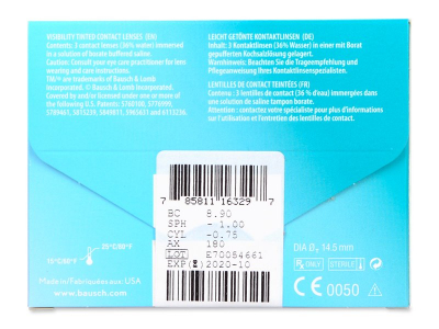 PureVision 2 for Astigmatism (3kpl)