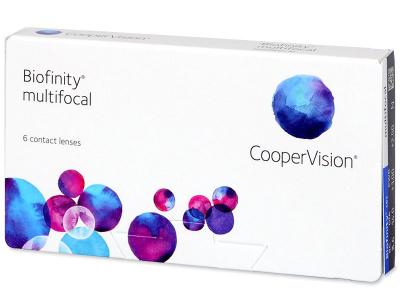 Biofinity Multifocal (6 kpl)