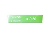 Clear 58 (6kpl)
