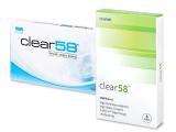 alensa.fi - Piilolinssit - Clear 58