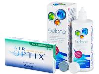 Air Optix for Astigmatism (6kpl) +Gelone-piilolinssineste 360ml