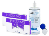 FREQUENCY XCEL TORIC (2x3 kpl) + Laim-Care -piilolinssineste 400ml