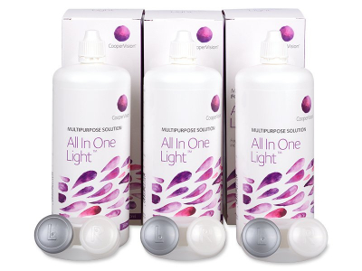 All In One Light 3 x 360 ml linssineste