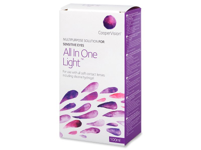 All In One Light 100 ml linssineste