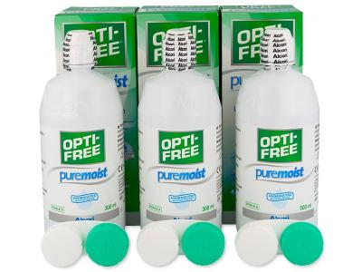 OPTI-FREE PureMoist -piilolinssineste 3x300ml
