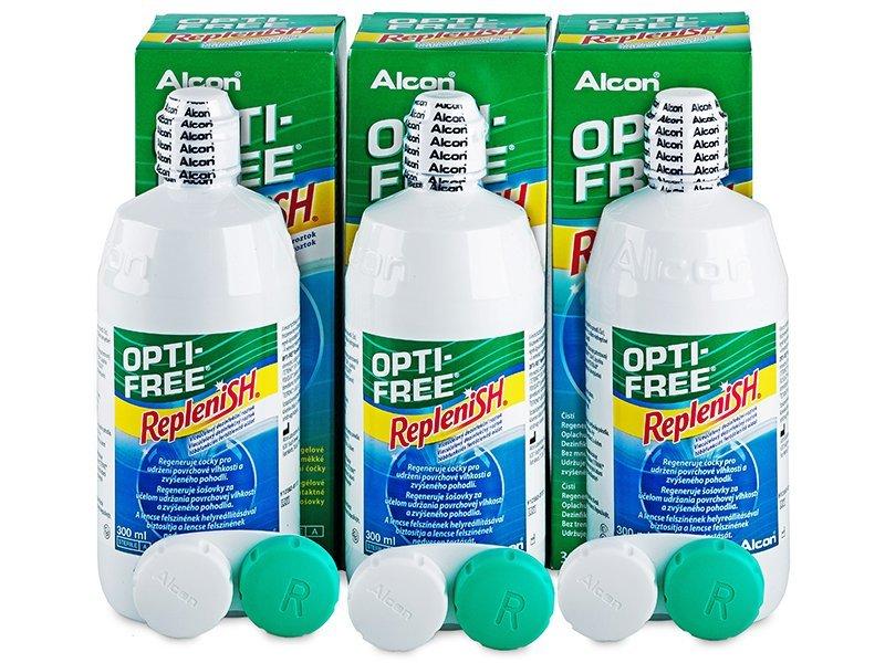 OPTI-FREE RepleniSH -piilolinssineste 3x300ml