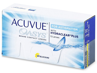 Acuvue Oasys for Astigmatism (12 kpl)