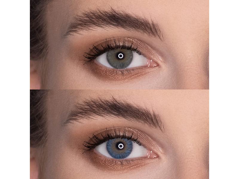 Siniset piilolinssit - Air Optix (2kpl)