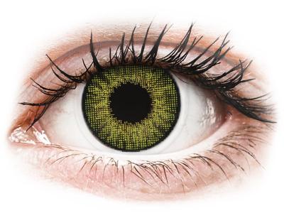 Jalokivi Vihreät piilolinssit - Air Optix (2kpl)