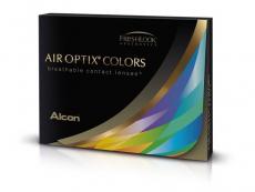 Ruskeat Hunaja linssit - tehoilla - Air Optix (2kpl)