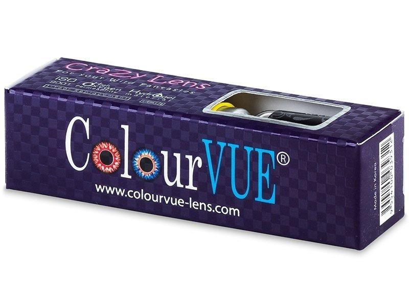 Mustat Blackout linssit - ColourVue Crazy (2 kpl)