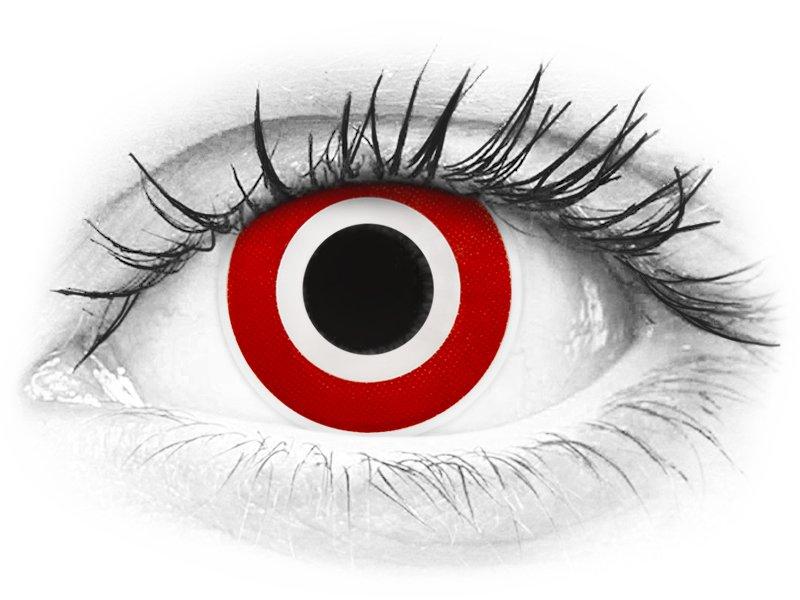Punaiset ja Valkoiset piilolinssit - ColourVue Crazy (2 kpl)