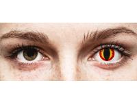 Punaiset ja Keltaiset Dragon linssit - ColourVue Crazy (2 kpl)