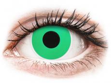 Vihreät Emerald piilolinssit - ColourVue Crazy (2 kpl)