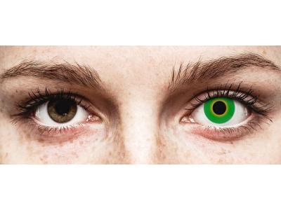 Vihreät Hulk piilolinssit - ColourVue Crazy (2 kpl)