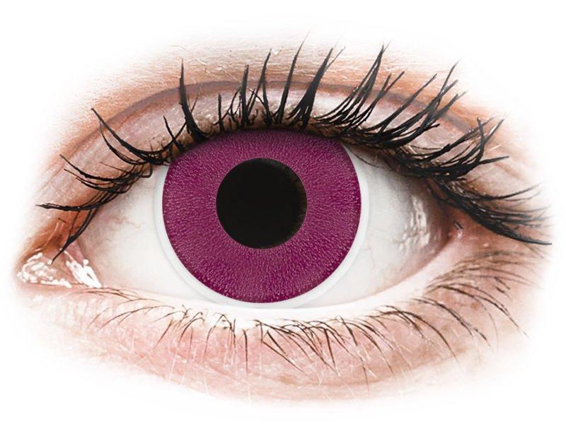 ... Violetit piilolinssit - ColourVue Crazy (2 kpl) ... 618a89fe09