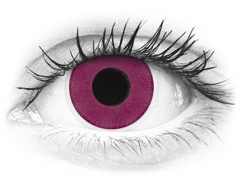 Violetit piilolinssit - ColourVue Crazy (2 kpl)