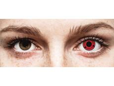 Punaiset Sasuke piilolinssit - ColourVue Crazy (2 kpl)