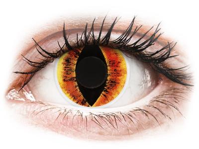 Oranssit Sauron piilolinssit - ColourVue Crazy (2 kpl)