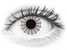 Mustavalkoiset Spider linssit - ColourVue Crazy (2 kpl)