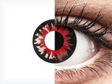 Punaiset Volturi piilolinssit - ColourVue Crazy (2 kpl)