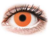 alensa.fi - Piilolinssit - Oranssit Glow piilolinssit - ColourVue Crazy