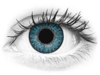 Siniset piilolinssit - tehoilla - TopVue Color (10kpl)