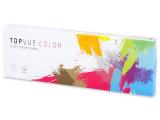 Ruskeat piilolinssit - tehoilla - TopVue Color (10kpl)