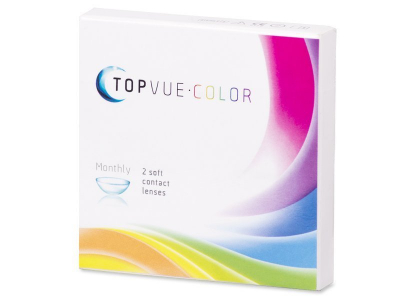 Turkoosit piilolinssit - tehoilla - TopVue Color (2 kpl)