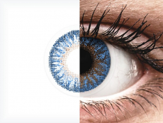 Siniset True Sapphire piilolinssit - TopVue Color (2 kpl)