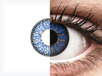Siniset Glamour piilolinssit - ColourVue (2kpl)