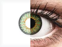 Vihreät Glamour piilolinssit - tehoilla - ColourVue (2kpl)