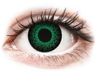alensa.fi - Piilolinssit - Vihreät Eyelush piilolinssit - tehoilla - ColourVue