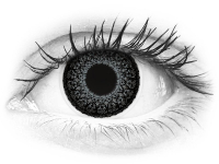Harmaat Eyelush piilolinssit - tehoilla - ColourVue (2kpl)