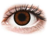 alensa.fi - Piilolinssit - Ruskeat Pähkinä linssit - tehoilla - ColourVUE BigEyes