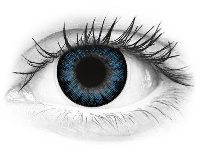 Siniset Cool piilolinssit - ColourVue BigEyes (2kpl)