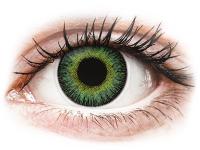 alensa.fi - Piilolinssit - Vihreät ja Keltaiset Fusion linssit - tehoilla - ColourVue