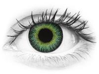 Vihreät ja Keltaiset Fusion linssit - tehoilla - ColourVue (2kpl)