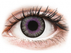Violetit ja Harmaat Fusion linssit - ColourVue (2kpl)