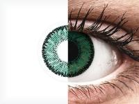 Vihreät Amazon piilolinssit - SofLens Natural Colors (2 kpl)