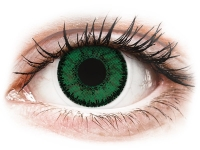 alensa.fi - Piilolinssit - Vihreät Emerald piilolinssit - SofLens Natural Colors - Tehoilla