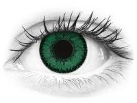 Vihreät Emerald piilolinssit - SofLens Natural Colors (2 kpl)