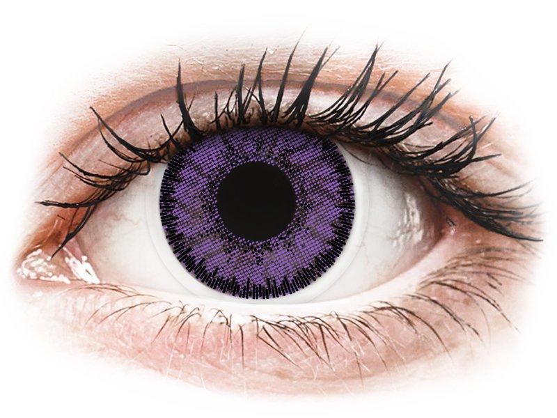 Violetit Indigo piilolinssit - SofLens Natural Colors (2 kpl)