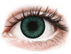 Vihreät Jade piilolinssit - SofLens Natural Colors (2 kpl)