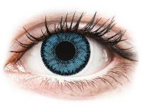 Siniset Pacific piilolinssit - SofLens Natural Colors (2 kpl)