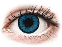 alensa.fi - Piilolinssit - Siniset Topaz piilolinssit - SofLens Natural Colors - Tehoilla
