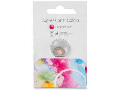 Pähkinä piilolinssit - tehoilla - Expressions Colors (1 linssi)