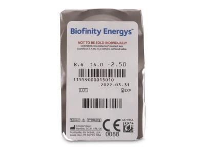 Biofinity Energys (3 linssiä)